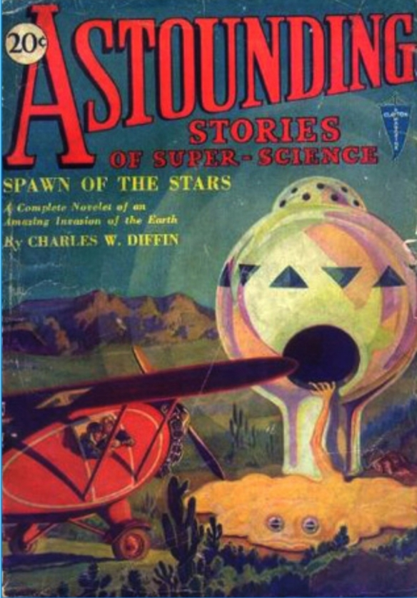 Astounding Stories of Super Science (February 1930)